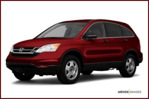 2010 Red Honda CR-V SUV