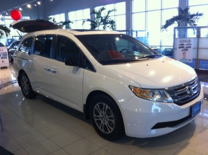All-New 2011 Honda Odyssey at Honda Cars of Katy